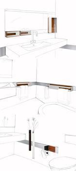 App Design, accessori bagno magnetici