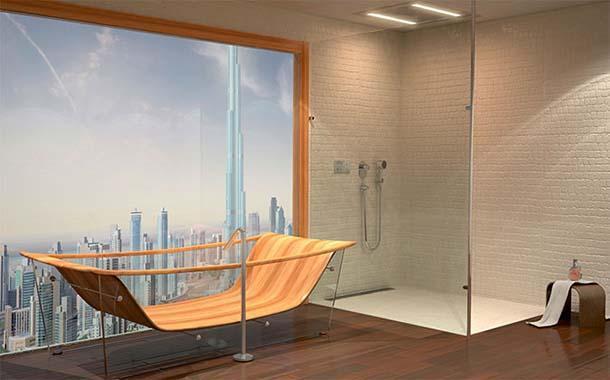 Vasca Da Bagno Vetro : Vasche da bagno in vetro