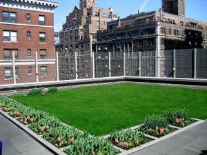 green roof, coperture a verde intensivo