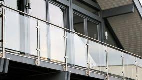 Balaustre per scale e affacci sicure e convenienti