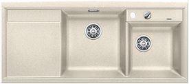 Mobile cucina dispensa: Piano cottura blanco silgranit