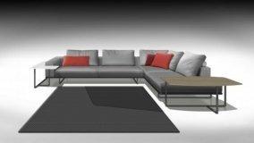 Nuovi divani in anteprima al Salone del Mobile