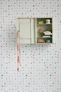 Button Wallpaper di Studio Ditte, carta da parati con bottoni