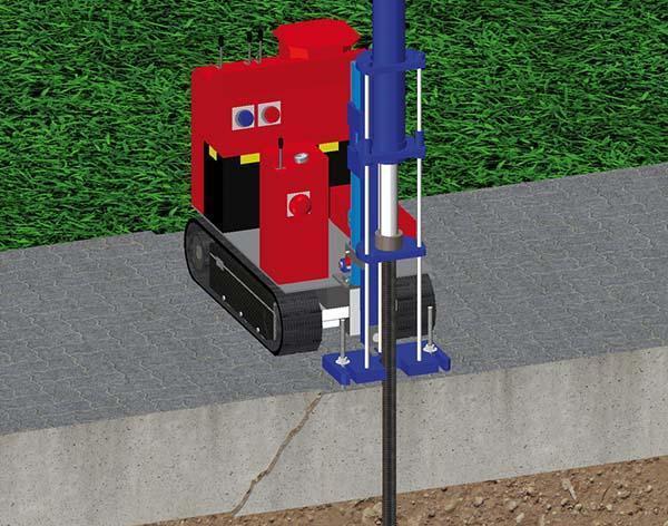 Micropali per fondazioni e terreno Lift Pile, tecnologia brevettata Novateck