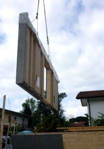 Woodbeton: Posa delle pareti in legno ARIA®