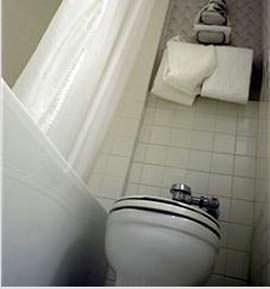 Un esempio di cattivo posizionamento dell'igienico