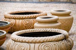 frigorifero senza elettricità: vasi in terracotta