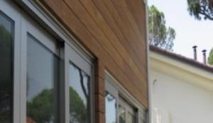 parete ventilata in legno samar