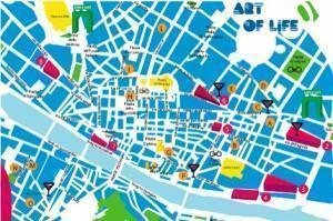 mappa florence design week