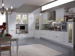 Cucine componibili - Vetrina per cucina ...