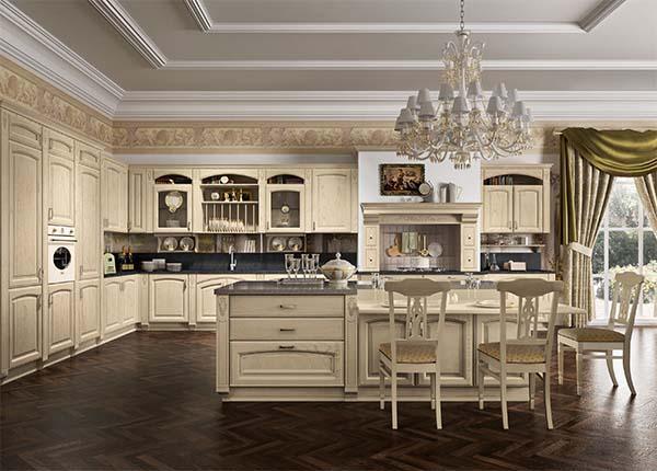 Cucina classica componibile modello GoldElite-Styledecape