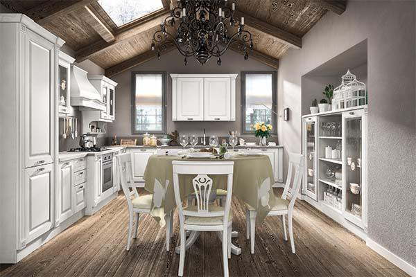 Cucina componibile: modello Bianco Regale