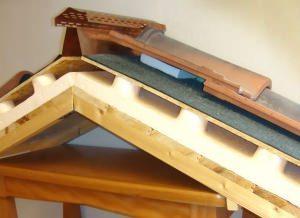 Tetto in legno ventilato for Tettoia inclinata del tetto