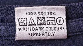 Etichette dei tessuti come leggerle