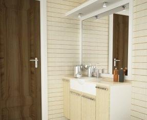 aumento ottico dimensioni del bagno - Fino A Che Punto Deve Essere Uno Specchio Sopra Un Lavandino