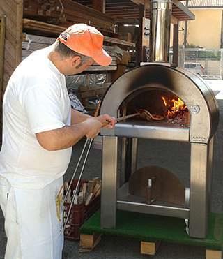 Il forno cinqueminuti in funzione