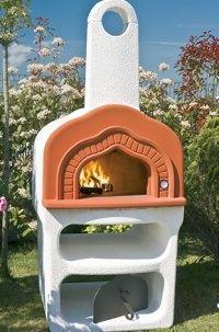 Un forno in muratura mod cuore Alfa Pizza