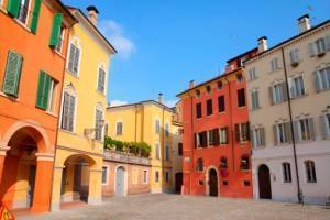 città e piano del colore