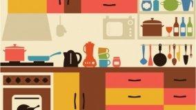 Cucina classica e cucina moderna