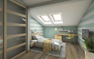 camera nel sottotetto