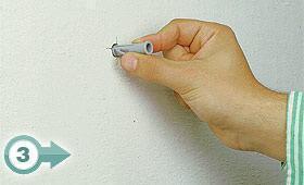 Usare bene i tasselli - Foro nel muro della cucina per normativa gas ...