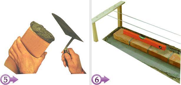 Costruire un muretto