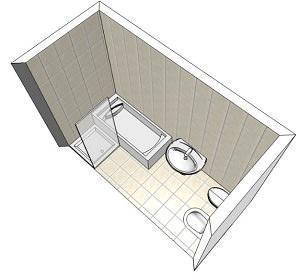 Doccia o vasca - Progetto bagno con vasca e doccia ...