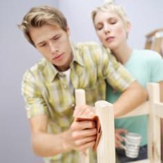 carteggiare il legno
