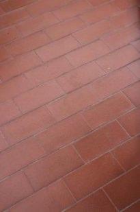 schema di posa pavimento in cotto (foto Ing. Gilda Montesano)