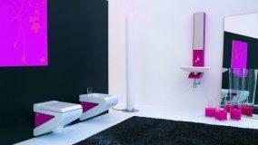 Rinnovare il bagno con sanitari e lavabi colorati