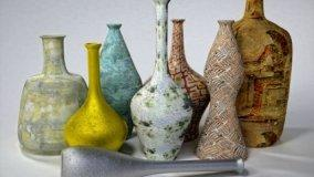 Vasi artistici in ceramica