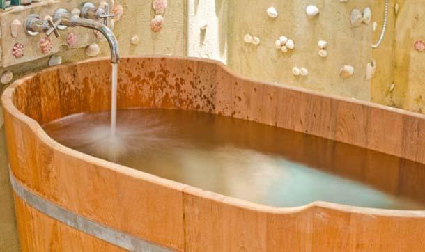 Vasca Da Bagno Stile Giapponese : Vasche da bagno in legno