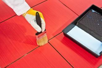 pulitura del pavimento
