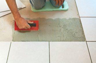 Pavimento in ceramica impeccabile dalla posa alla manutenzione - Posa piastrelle su pavimento radiante ...
