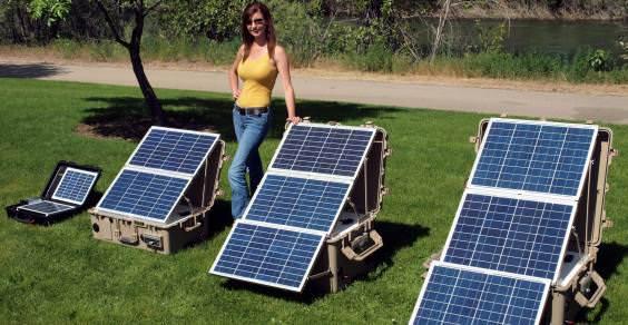 pannello solare trasportabile (da Universal)