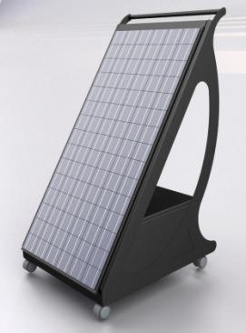 pannello fotovoltaico trasportabile ( di Ri-ambientando)