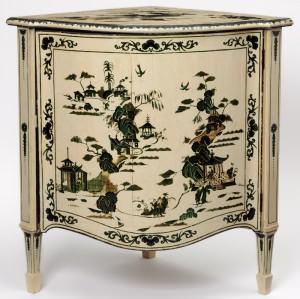 Cassettiera Chippendale esposta al Victoria & Albert Museum di Londra