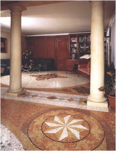 disegno pavimento veneziano (di BARON & TARGON' Pavimenti)