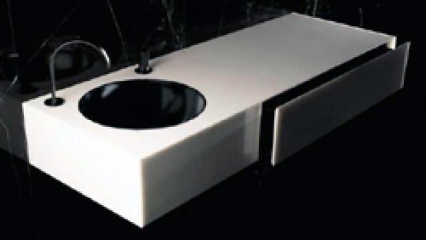 marmo e pietre naturali per il bagno - Lusso Estratto Lavandino Del Bagno