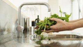 Rubinetteria da cucina a risparmio idrico