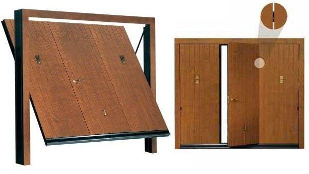 Basculanti in legno for Sandrini serrande