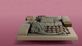 Il letto si trasforma