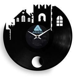 orologio Re Vinyl 33 di Vinyluse