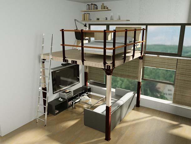 Costruire Un Letto A Castello Fai Da Te : Costruire un letto in legno come decorare un letto a castello