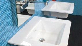 Ceramica per lavabi