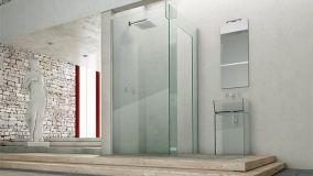 Box doccia di grandi dimensioni