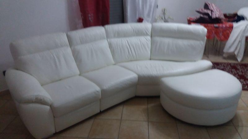 Copridivani su misura - Copridivano angolare per divano in pelle ...