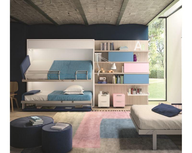 Ikea Letti A Castello A Scomparsa.Soluzioni Per Letti A Castello Salvaspazio