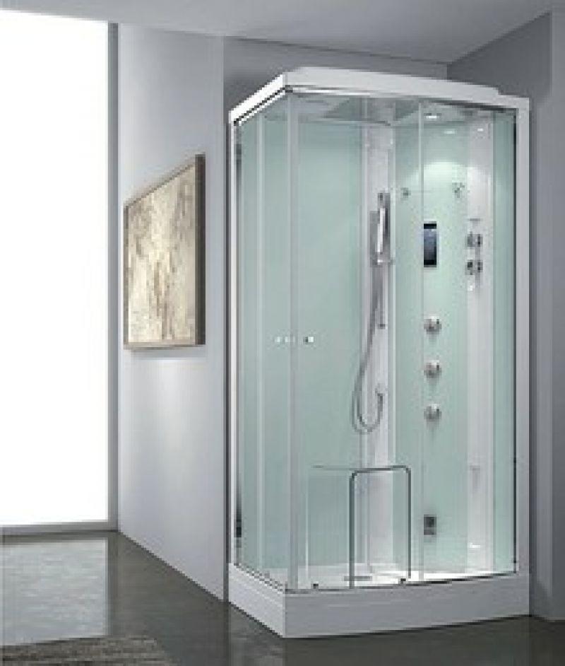 Prezzo idrocabina box doccia zenitale multifunzione for Doccia multifunzione