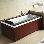 Vasca idromassaggio legno